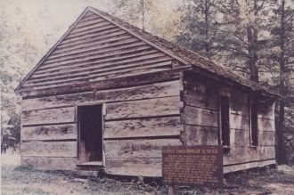 Little Greenbrier Schoolhouse, Great Smoky Mountains, Tennessee