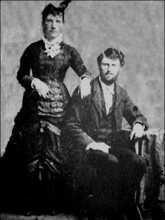 Harriette (McInnis) & Charles McKinley, 1870