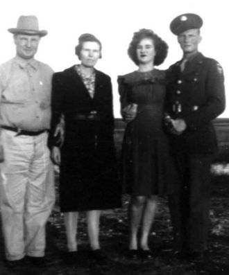 Oscar & Sophia Hoppe, Ola Mae Spross, Leonard Ray Hoppe