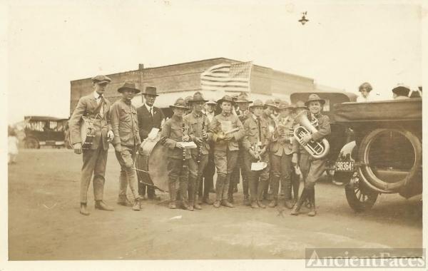 Boy Scout band, Okemah, OK