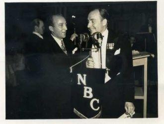 Alan Mowbray and Bing Crosby