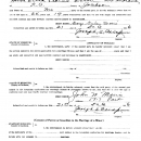 Marriage License , 1936