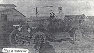 Walt Vallis in Touring Car
