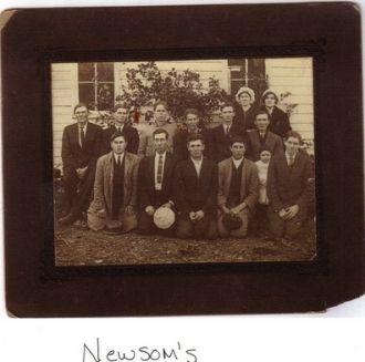 Newsom family reunion