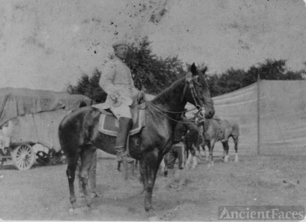 Buffalo Bill's Wild West cast!