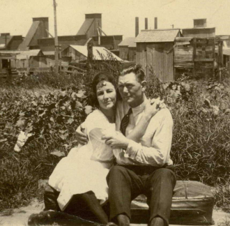 Jesse James Hampton and Margaret Parks