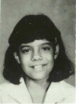 Kristin Banerjee - 1987 Yearbook photo