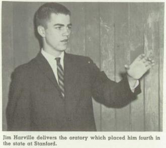 Jim Harville - Speech & Debate 1962 Bellarmine