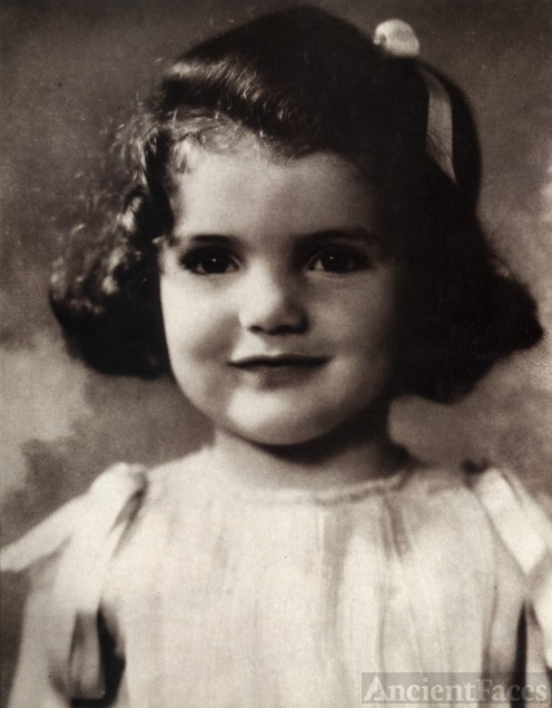 Jackie Bouvier, toddler