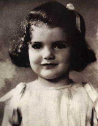 Jackie Bouvier, toddler