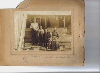 Lenorad Milton and Lulu Abagil (Plummer) Dixon