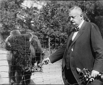 Senator Penrose at the Zoo