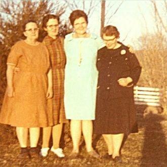 Daughters of Henry Lee Eskridge and Marie Scherf