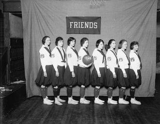 Friends Select School basketball team