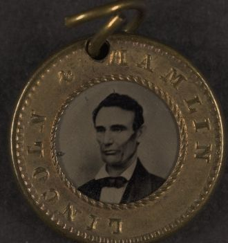 Lincoln Presidential Campaign Button - 1860