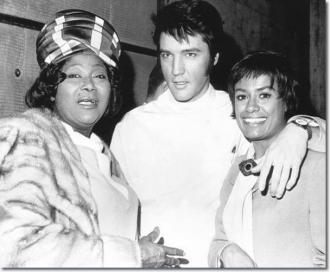 Barbara McNair, Elvis and Mahalia Jackson