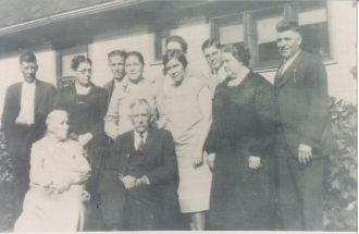 Huckleberry Family Photo