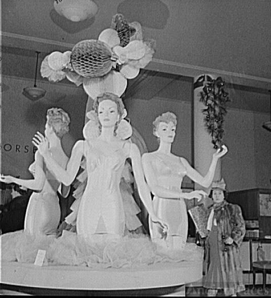 Corset display,  R. H. Macy and Company