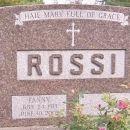 Fanny Rossi gravesite