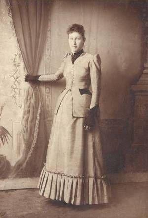 Sarah Catherine Statler (Stotler), 1893