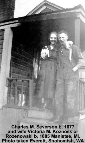 Victoria and Charles M. Severson