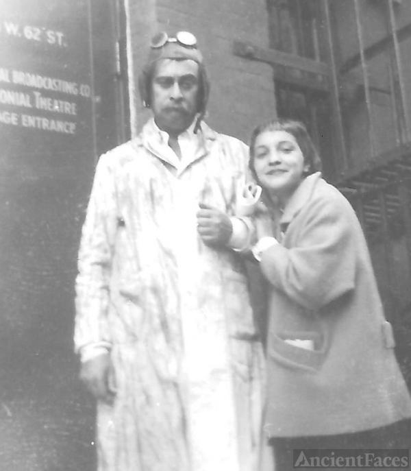 Louis Nye and Amanda Stevenson