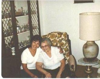 Nadine Szabo and Margaret Graham Galgoczi, c.1985