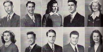 Harry Lee and 1945 Seniors