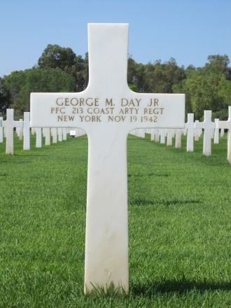 George M Day,Jr gravesite