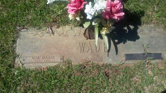 Ada Marie (Rhoton) Wade