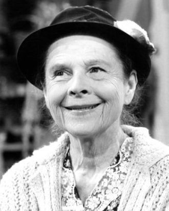 Ruth Gordon.