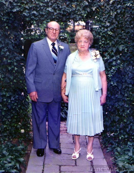 Alexander & Josephine Foldhazi - 50th Anniversary