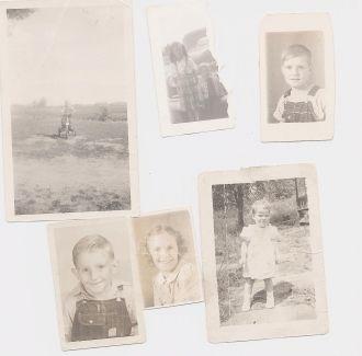 Eva Bell Peck family