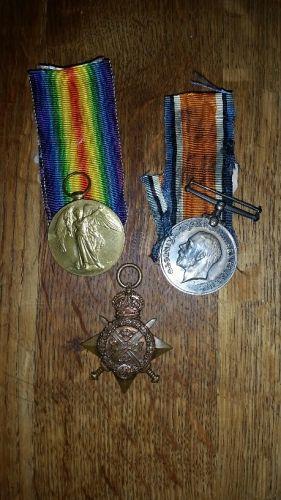 Robert James Cummings medals