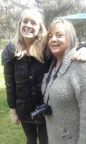 Alysia and Faye Savill