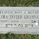Flora's grave