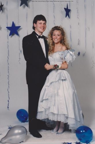 Andy and Becky Clark, 1992