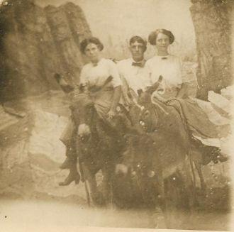 Elsie Rush, John Scott, Olga Fegley