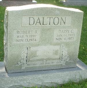 Robert B. Dalton & Daisy Couch Dalton