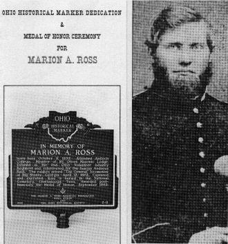 Ross Memorial Marker & Photograph