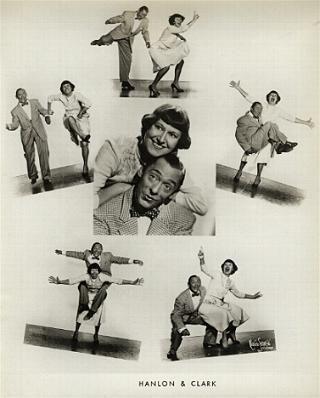 Vaudeville - Hanlon & Clark a little aged