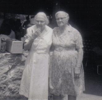 Annie L Wells & Maggie Childers