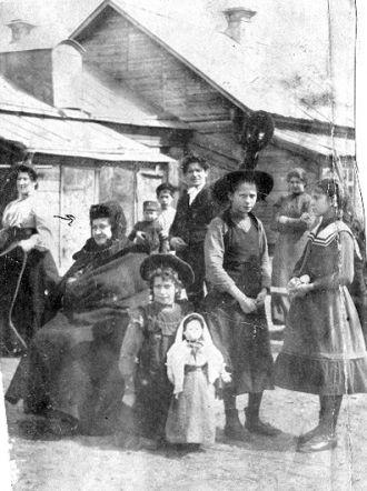 Markov Family, Russia, 1905