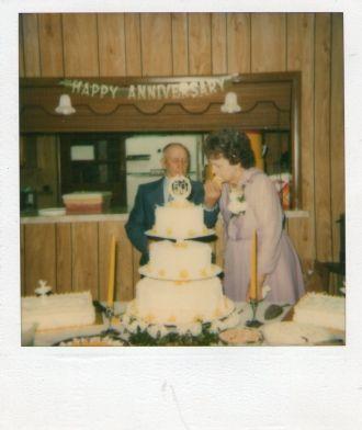 50th Wedding aniv.