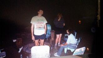 Clell Blair Pickett, camping