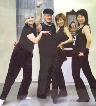 Molly Molloy, Luigi, and Dancers