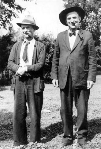 Dennis & Thomas Silver, Minnesota 1945