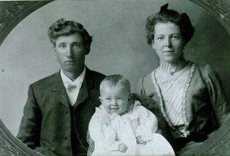 Warren, Edith, and Harold Tilton