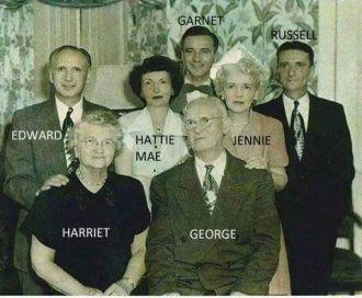 Hattie M (Adams) Sainsbury Family