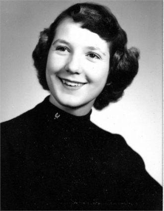 Jody (Wedermyer) Hager, Kansas 1955